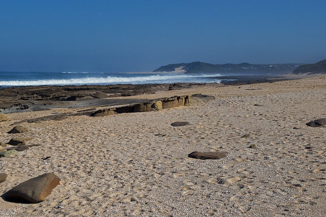 Indian Ocean, Eastern Cape - Copyright JM Schreiber