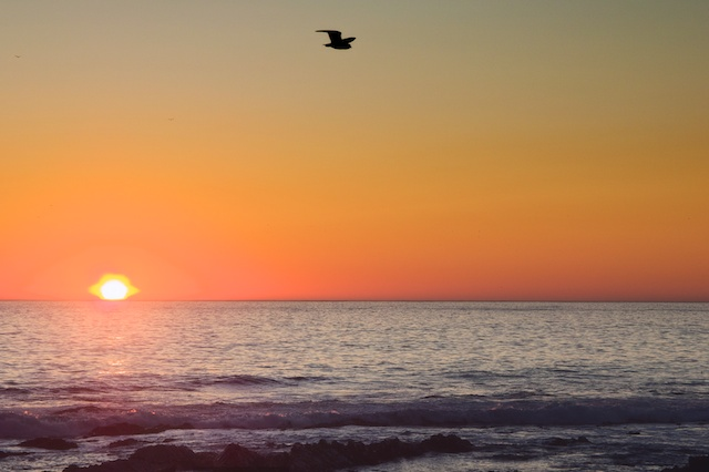 Sunset over the Atlantic, Cape Town - Copyright JM Schreiber